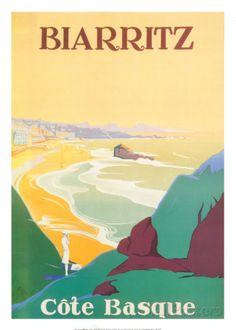 Biarritz Lámina