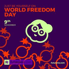 Just be yourself on World Freedom Day! All #icons used in the series are available in our App. Imagine what YOU could create with them! Check out our FUTURAMO ICONS – a perfect tool for designers & developers on futuramo.com icondesign #icons #iconsystem #pixel #pixelperfect #flatdesign #ux #ui #uidesign #design #developer #webdesign #app #appdesign #graphicdesign