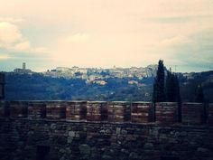 View from the terrace, Perugia