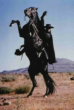 Zorro and his horse TORNADO