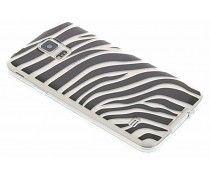 Dierenprint design Zebra TPU hoesje Galaxy S5 (Plus) / Neo