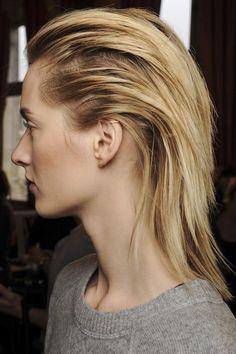 Streamlined Hair: Autumn/Winter 2013 Hair Trend (Vogue.com UK)