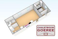3D impressie van een Chalet van chaletbouw Goeree