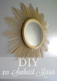 sunburst mirror with label-001
