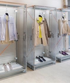 "FILLING PIECES SHOWROOM, Paris, France, ""Some Fashion just aren't meant to be caged"", photo by Wout Huibers, pinned by Ton van der Veer"