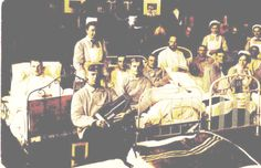 Field hospitals were a common sight during the First World War. Because of the intense fighting a lot of soldiers got wounded and were transported to a field hospital to recover. As you can see on this postcard, the hospitals not only healed physical wounds, they nurtured the morale as well in order to prepare the men for the front again. #WWI #WarPics #HistoryPics #History #WarPhotos #OldPhotos