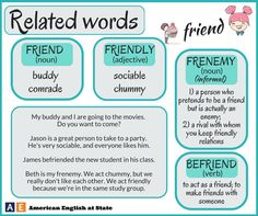 Words related Friend