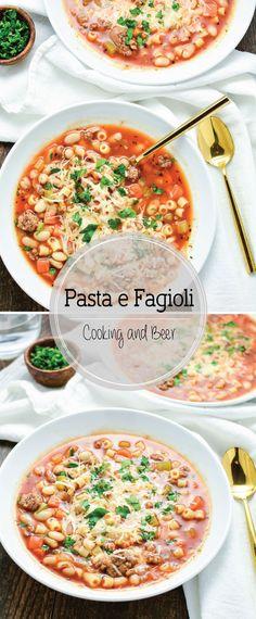Pasta e Fagioli is a