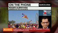 """Catalonia Determined to Hold Independece Vote: Albinyana - bloomberg.com, Sept. 19 2014. Minister of Foreign Affairs for Catalonia Roger Albinyana discusses Catalonia possibly having their own vote for independence on November 9th and what they can learn from Scotland's referendum with Bloomberg's Caroline Hyde and Manus Cranny on """"Countdown."""""""