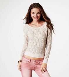 AE Knit Long-sleeve (Large) $29.99