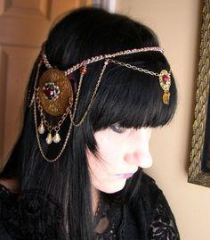 art nouveau headpiece - Google Search