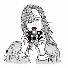 """Résultat de recherche d'images pour """"dessin fille tumblr"""""""
