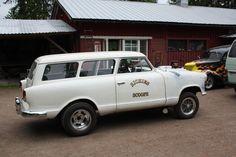Cossus Garage Drag Cars, Drag Racing, Hot Rods, Transportation, Classic Cars, Automobile, Van, American, Vehicles