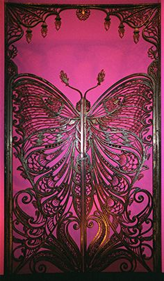 Art Nouveau Butterfly Door at Brooklyn Museum of Art