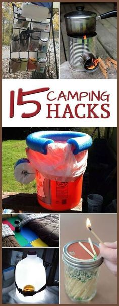 Camping Hacks That Are Truly Genius Here are some tips and tricks to make your next camping trip easier and more enjoyable.Here are some tips and tricks to make your next camping trip easier and more enjoyable. Camping 101, Camping Supplies, Camping Checklist, Camping Essentials, Camping Survival, Camping And Hiking, Camping Life, Camping With Kids, Camping Meals