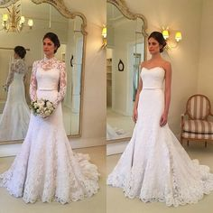 Wholesale New Style Lace Wedding Dress, Bridal Gown ,Dresses For Bride – DressesTailor Stunning Wedding Dresses, Best Wedding Dresses, Bridal Dresses, Wedding Gowns, Bridesmaid Dresses, Prom Dresses, Formal Dresses, Lace Wedding, Diy Wedding Dress