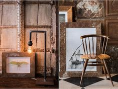 The Explorer's Study > Amatuli Interior Stylist, Oversized Mirror, Living Spaces, Study, Explore, Couches, Chairs, House, Furniture