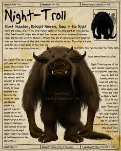 Labyrinth Guide - Night Troll  by =Chaotica-I  Fan Art / Digital Art / Painting & Airbrushing / Movies & TV©2011-2012 =Chaotica-I