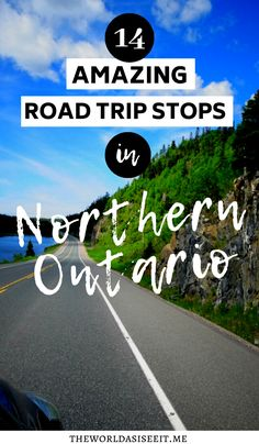 Travel to Northern Ontario to see some epic places in Ontario with this amazing Northwestern Ontario road trip that includes 14 EPIC stops! Ontario City, Ontario Parks, Ontario Travel, Rv Travel, Travel Advice, Travel Guides, Travel Destinations, Travel Tips, Travel