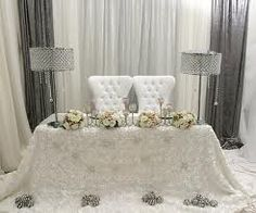 1000 Images About Bling Sweetheart Tables On Pinterest