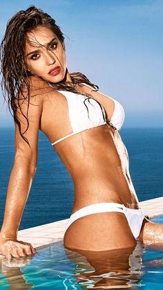 ad1ecd89f02a ... Jessica Alba in Swimwear. See more. Video Leak, Glamour Shots, Hi  Fashion, Female Fashion, Thong Bikini, Bikini