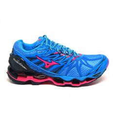 52cdbfff36442 Comprar Tênis Mizuno Wave Prophecy 7 azul e rosa online e barato