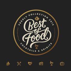 Resultado de imagen de fast food logo design