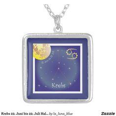 La Luna, June 22, Astrology Signs, Neck Chain
