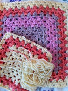 Amy's crochet granny squares