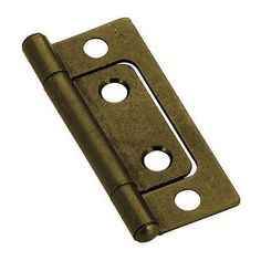 Cabinet Hinges 41973: Non-Mortise Hinges - Antique Brass 2 - Bulk Lot. 100 Hinges With Screws -> BUY IT NOW ONLY: $65.99 on eBay!
