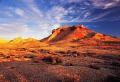 The Australian Outback is incredible colourful, this area of South Australia's outback is the Painted Desert