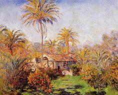 Small Country Farm in Bordighera 1884 Claude Monet