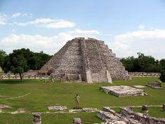 Mayapán, situada en el estado de Yucatán. Foto: Sybz (Flickr).