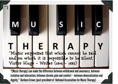 Music Therapy is so helpful after a Brain Injury!