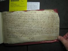 1364 - 6. October HAMPSHIRE - Earlstone RITTER  John Čaboun - Capoun (Gaboun) - CAmBOUN (Dialect Cornish Gamboun). Robert Palmer, S Williams, Name Writing, Baron, Dory, Hampshire, Cornwall, October, Olive Tree