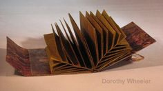 Fishbone Folding Technique, book by Dorothy Wheeler