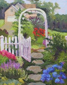 """Open To Possibilities by Roxanne Steed Oil ~ 14"""" x 11"""""""