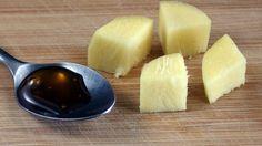 Frischer Ingwer gilt als Allheilmittel und ist tatsächlich recht erfrischend! Noch ein Löffelchen Honig mit rein und jede Erkältung ist erstmal gedämpft!