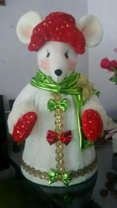 Clay Crafts, Diy And Crafts, Xmas, Christmas Ornaments, Snow Globes, 4th Of July, Projects To Try, Dolls, Holiday Decor