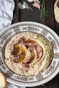 Baba Ghanoush is delicious with warm pita bread, tortilla chips, crackers or fresh veggies. It's also an incredible filling for wraps when combined with rotisserie chicken and vegetables of your choice.