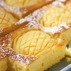 Schnelle Kuchen mit Apfel - [ESSEN & TRINKEN]