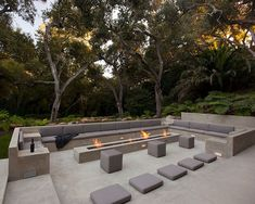Glass Pavilion, an ultramodern house by Steve Hermann very modern fire pit. This is the idea i would like to go with for our pitvery modern fire pit. This is the idea i would like to go with for our pit Outdoor Fire, Outdoor Lounge, Outdoor Rooms, Outdoor Gardens, Outdoor Living, Terrasse Design, Patio Design, Garden Design, Backyard Designs