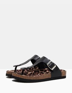 ad04e5c01 Bershka bio sandals - Woman - Bershka Hungary Sandálias