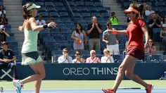 In Sunday's final, top-seeded Sania/Hingis defeated no.4 seeds Australia's Casey Dellacqua/Kazakh Yaroslava Shvedova 6-3, 6-3. For Indian tennis fans, the triumph of Sania Mirza and Leander Paes provided unlimited delight, coming soon after their identical victories at Wimbledon. Read More:- http://kridangan.com/tennis/sania-mirza-martina-hingis-win-2015-us-open-to-make-it-two-grand-slam-titles-in-a-row/8003/
