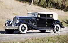 1933 Pierce-Arrow 1247 LeBaron Convertible Sedan - (Pierce-Arrow Motor Car Company Buffalo, New York 1901-1938)