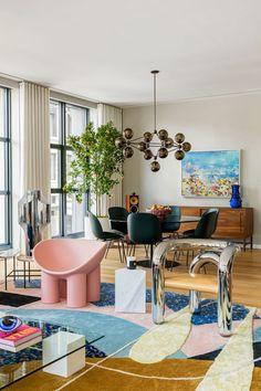 Explore A Colourful And Playful Loft In New York's TriBeCa
