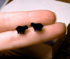 Black sheep earrings. Too cute, and at $2.50!!