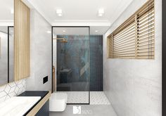 Warsaw, Malaga, Bathtub, Interior Design, Bathroom, Dom, Gray, White People, Green