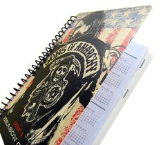 UpCycled Sons of Anarchy Planner 2012