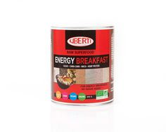 Get your day off to the perfect start with Uberti Organic Energy Breakfast. A wonderful source of plant-based protein, the high-impact breakfast supplement is suitable for vegan and gluten-free diets. Sugar-free and packed with nutrients, the raw breakfast powder combines cacao, camu-camu, maca, spirulina and hemp protein. Highly versatile, it can be added to smoothies or sprinkled on cereals.